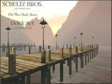 [Schultz Bros.] Dock Set V1.1 (BOXED)
