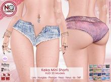 :: No Cabide :: Keka Mini Shorts - HUD 20 Models
