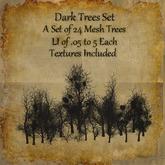 Bad Katz Dark Trees Set