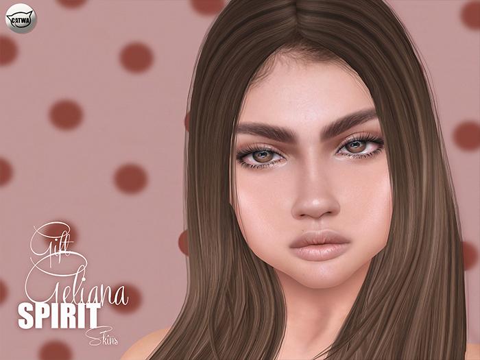 SPIRIT Skins - Geliana gift skin Nut [Catwa app]