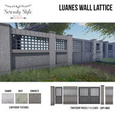 Serenity Style- Luanes Wall Lattice