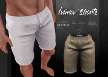 {Fe Style} Ivanov Shorts - Beige [Box]