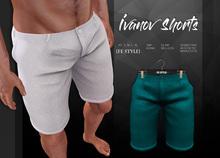 {Fe Style} Ivanov Shorts - Teal [Box]