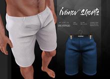{Fe Style}  Ivanov Shorts - Blue