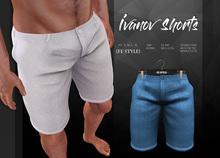 {Fe Style} Ivanov Shorts - SkyBlue [Box]