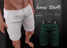{Fe Style} Ivanov Shorts - Green [Box]