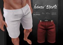 {Fe Style} Ivanov Shorts - Red [Box]