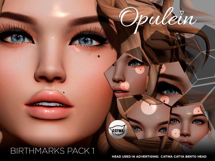 Opulein - Birthmarks Pack 1 CATWA