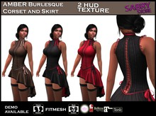promo SS SabryStore - AMBER Burlesque Corset and Skirt - fatpack MAITREYA SLINK BELLEZA TMP TONIC Standard Fitmesh