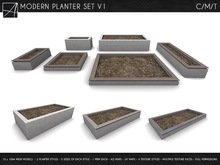 [AC] Modern Planter Set V.1 [Full Permissions]