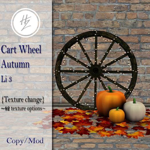 .::Hazeel::. Cart Wheel Autumn