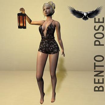 Expressive bento poses Lantern 1