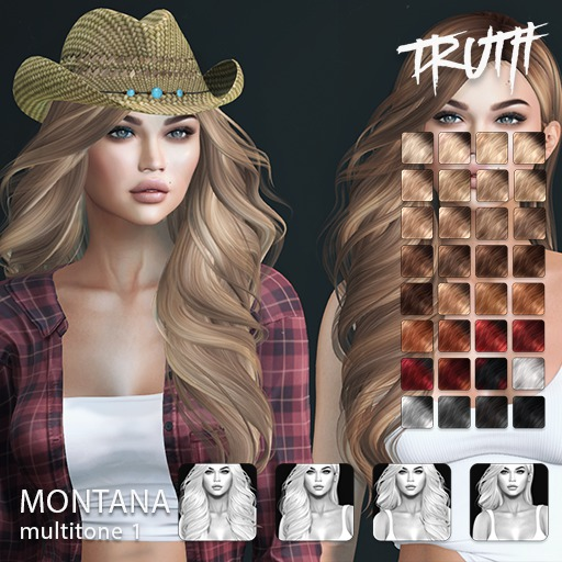 TRUTH Montana (Fitted Mesh Hair) - Multitone 1