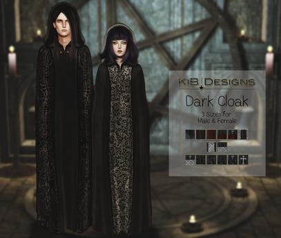 KiB Designs - Dark Cloak FEMALE FATPACK