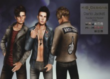 KiB Designs - Dario Jacket w Shirt -FATPACK