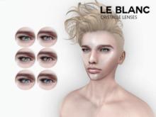 Le Blanc - Cristalle Lenses <Aqua>