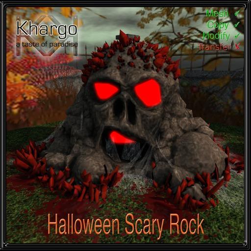 KHARGO HALLOWEEN SCARY ROCK