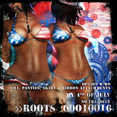 >>ROOTS<<00O10016 (My 4th of July Outfit)