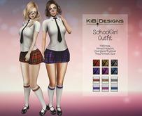 KiB Designs - SchoolGirl FATPACK