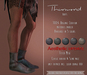 {TWS} - Thurmond Boots [Black] Slink Physique Male, Aesthetic, Classic Avatar