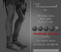 {TWS} - Thurmond Boots [DEMO] Slink Physique Male, Aesthetic, Classic Avatar