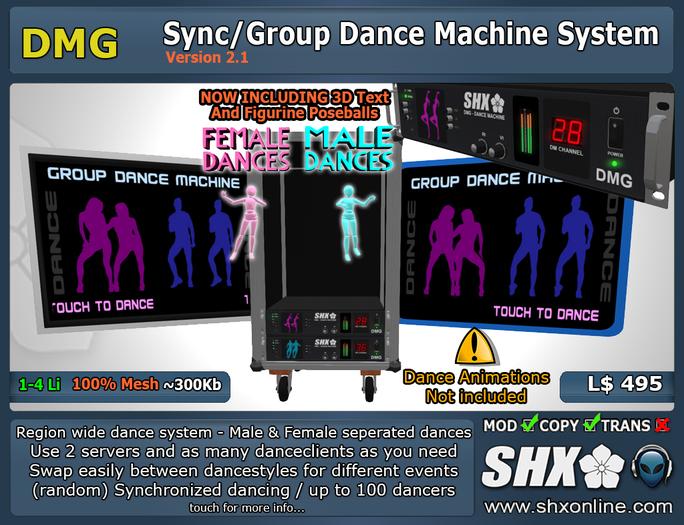 SHX-DMG Group Dance Machine