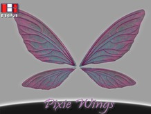 Pixie Wings (Bento Rigged and animated)