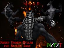 [Jörr] Rigged Dragon Scales for Dvalinn Deer