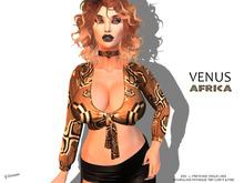 [F] Venus Shirt African - Fitmesh