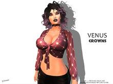 [F] Venus Shirt Crowns - Fitmesh