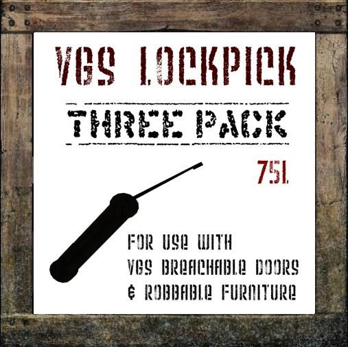 VGS Lockpicks (3 pack)
