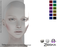 Zibska [50L Closeout] ~ Saba Blush in12 colors with Catwa, Lelutka & Omega appliers