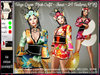 irrISIStible : TOKYO QUEEN MESH OUTFIT 24 TEXTURES HUD
