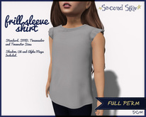 FULL PERM - Frill Sleeve Shirt