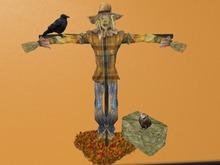 Mesh Scarecrow Decor.