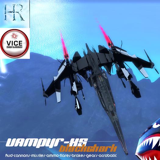 H.R. Vampyr Black-Shark XS