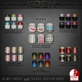 KOSH - Slink Applier WINTER SWEATER TOENAILS RARE