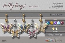 EarthStones Belly Bugs - Butterfly Treasure Pack - Maitreya