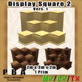 Display Square 2 Vers. 1 (Sculptie)