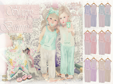 * {.:Little Stars.:} * Sleepy Bunny * Fatpack (non-fitted TD Baby & Bebe)