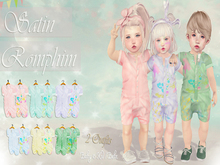* {.:Little Stars.:} * Satin RompHim - Fatpack (non-fitted TD Baby/Kid &Bebe)