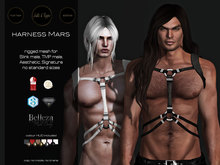 S&P harness Mars (wear to unpack)