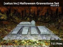 [satus Inc] Halloween Gravestone Set