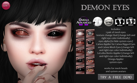 Izzie's - DEMO Demon Eyes