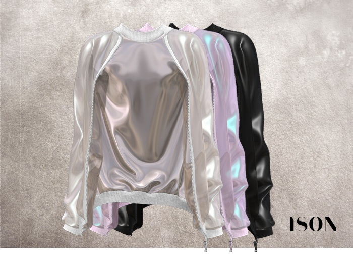 ISON - plastic bomber jacket (all colors)