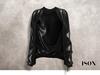 ISON - plastic bomber jacket (black)