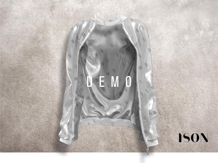 ISON - plastic bomber jacket (demo)