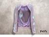 ISON - plastic bomber jacket (holographic)