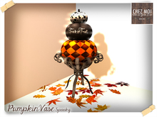 Spooky Pumpkin Vase ♥ CHEZ MOI