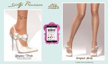 *Dirty Princess* Gorgeous Bride Princess Heels w/Hud 29 Colors